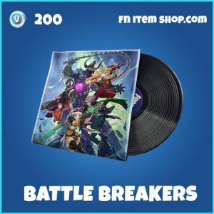 Battle Breakers rare fortnite music pack