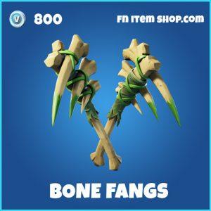 Bone Fangs rare fortnite pickaxe