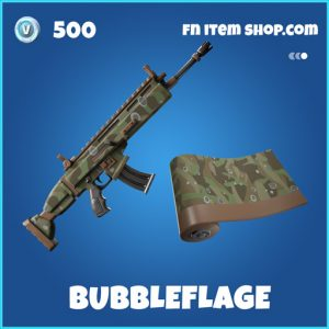 Bubbleflage rare fortnite wrap