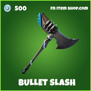 Bullet Slash uncommon fortnite pickaxe