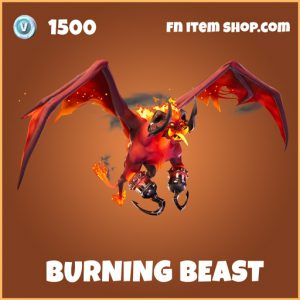 Burning Beast Legendary Fortnite Glider