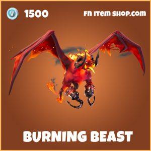 Burning Beast Legendary Fortnite Glider