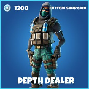 Depth Dealer rare fortnite skin