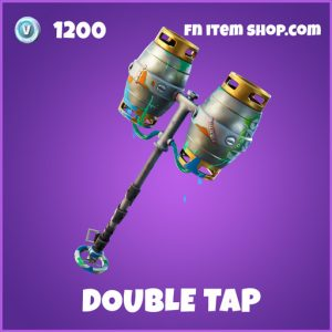 Double Tap epic fortnite pickaxe