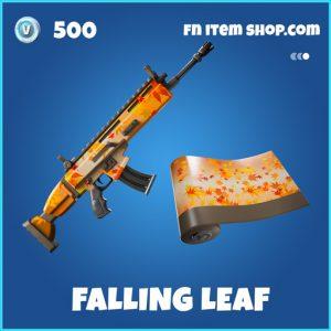 Falling Leaf rare fortnite wrap