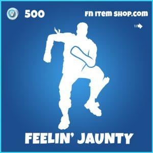 Feelin' Jaunty Feeling rare fortnite emote