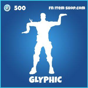 Glyphic rare fortnite emote
