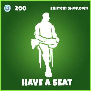 Have a seat uncommon fortnite emote