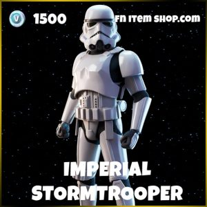 Imperial Stormtrooper original triology star wars fortnite skin