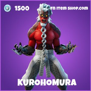 Kurohomura epic fortnite skin