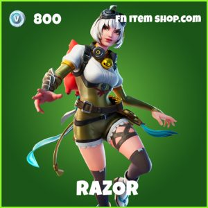 Razor uncommon fortnite skin