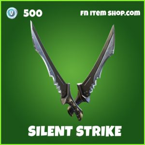 Silent Strike uncommon fortnite pickaxe