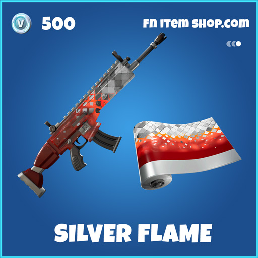 Silver-flame