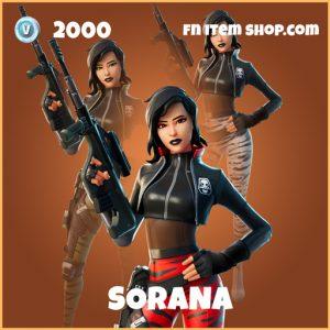 Sorana legendary fortnite skin