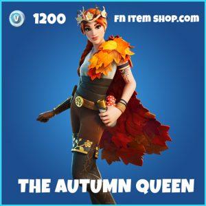 The Autumn Queen rare fortnite skin