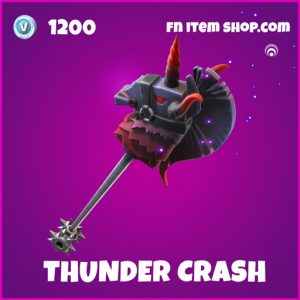 Thunder Crash epic fortnite pickaxe