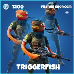 Triggerfish rare fortnite skin