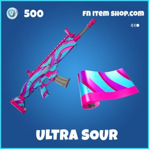 Ultra Sour rare fortnite wrap