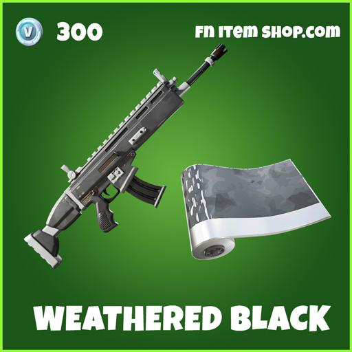 Weathered-Black