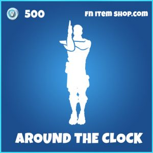 Around the clock rare fortnite emote