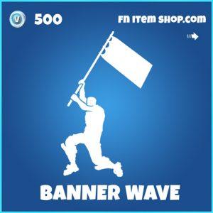 banner wave rare fortnite emote