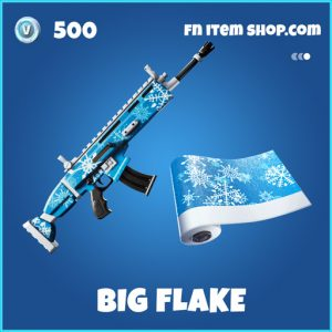 big flake rare fortnite wrap