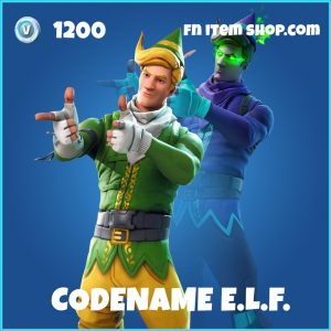 codename elf e.l.f. skin rare fortnite