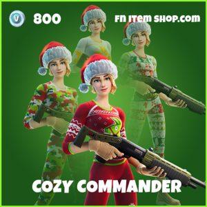 cozy commander uncommon fortnite skin