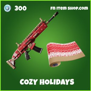 Cozy Holidays uncommon wrap fortnite