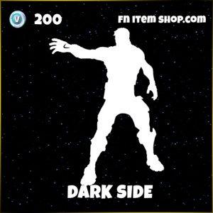 Dark side epic fortnite star wars emote