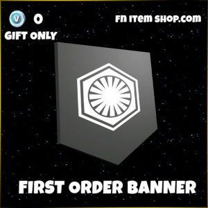 first order banner star wars fortnite banner