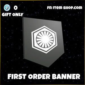 first order banner star wars fortnite banner