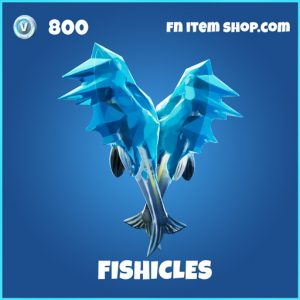 Fishicles rare fortnite pickaxe