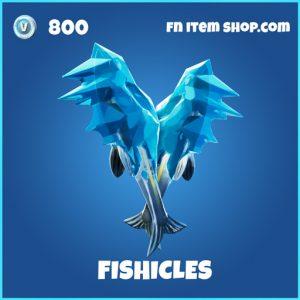 Fishicles rare fortnite pickaxe