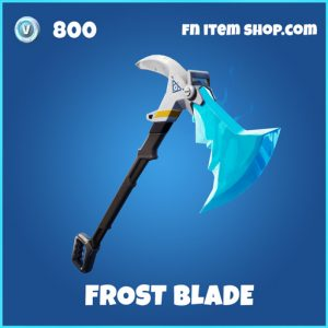 Frost blade rare fortnite pickaxe