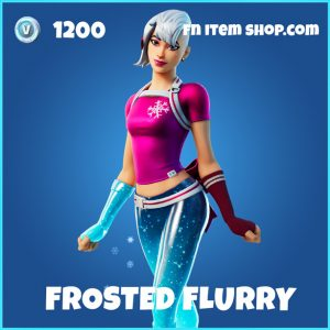 Frosted Flurry rare fortnite skin