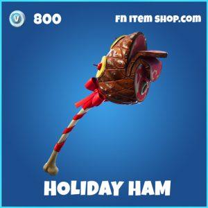holiday ham rare fortnite pickaxe