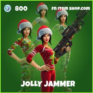 Jolly Jammer uncommon fortnite skin