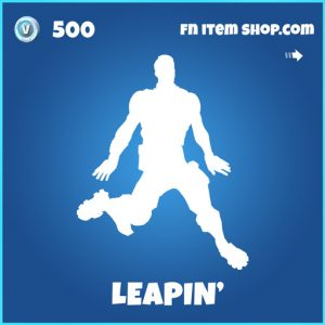 Leapin' rare fortnite emote