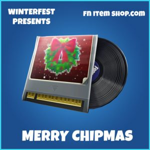merry chipmas rare music pack fortnite
