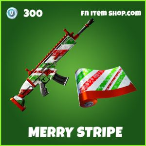 Merry stripe uncommon fortnite wrap