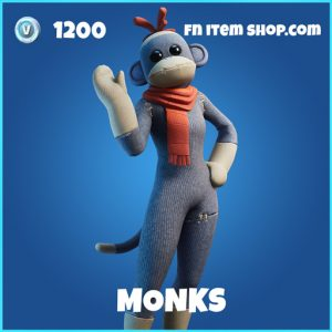 Monks rare fortnite skin