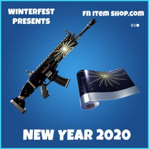 New year 2020 rare fortnite wrap