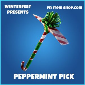 Peppermint pick rare fortnite pickaxe