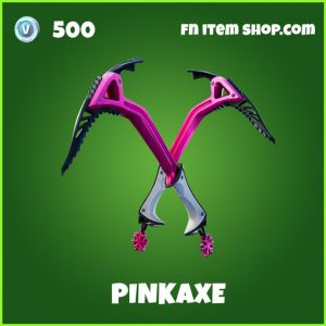 Pinkaxe uncommon fortnite pickaxe