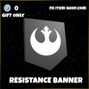 Resistance banner star wars fortnite banner