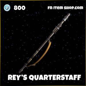 Rey's Quarterstaff star wars fortnite pickaxe skin