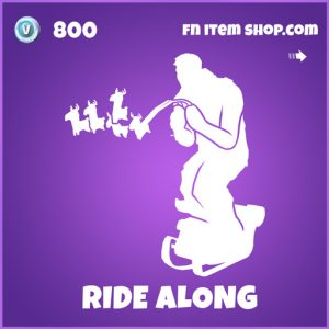 Ride along epic fortnite emote