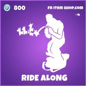 Ride along epic fortnite emote