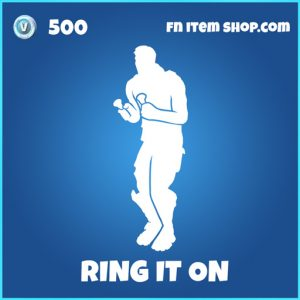Ring it on rare fortnite emote